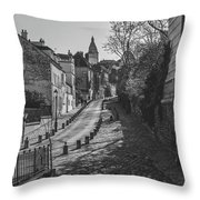 Exploring Paris Throw Pillow