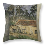 Farmyard  Throw Pillow