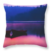 Quiet Dawn Throw Pillow