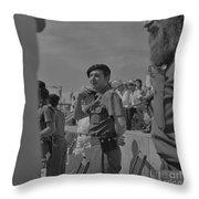 Raul Castro  Throw Pillow