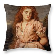 The Martyr Of The Solway Throw Pillow