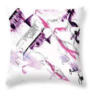 3 Times Removed Throw Pillow