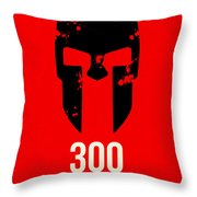 300 Throw Pillow