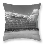 Allianz Arena Munich  Throw Pillow