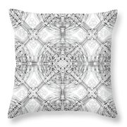 Background Of Geometric Shapes Throw Pillow