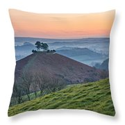 Colmers Hill - England Throw Pillow