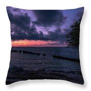 Cool Autumn Evening Throw Pillow