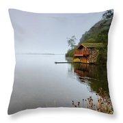 Misty Ullswater Throw Pillow