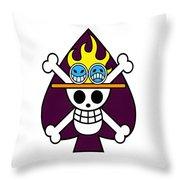 Onepiece Throw Pillow