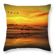 Peaceful Serenity Throw Pillow