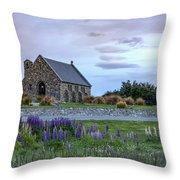 Tekapo - New Zealand Throw Pillow