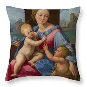 The Garvagh Madonna  Throw Pillow
