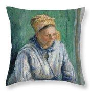 Washerwoman  Study  Throw Pillow