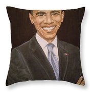 44th Though First. Throw Pillow