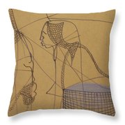 Kintus Tasks Throw Pillow