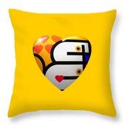 Love Heart Throw Pillow