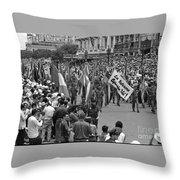 60th Anniversary Of Russian Socialist October Revolution Throw Pillow