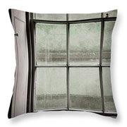 Old Window Frame Throw Pillow