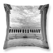 Arlington National Cemetery Memorial Amphitheater Throw Pillow