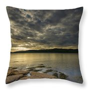 Loch Na Keal Throw Pillow