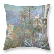 Villas At Bordighera  Throw Pillow