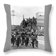 Marchers Throw Pillow
