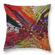 My Colorful World Series Throw Pillow