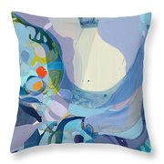 70 Degrees Throw Pillow