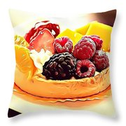 8 Eat Me Now  Throw Pillow