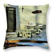 Teijo Ironworks Throw Pillow