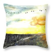 82nd Airborne Throw Pillow