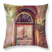 A Beautiful Mystery Throw Pillow