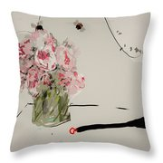 A Bouquet For Patricia  Throw Pillow