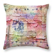 A City Besieged Throw Pillow