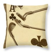 A Classic Round Throw Pillow