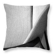 A Danish Settee Throw Pillow