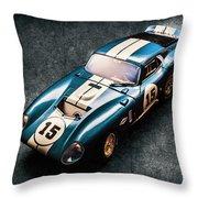 A Daytona Classic Throw Pillow