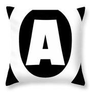 A Design Throw Pillow