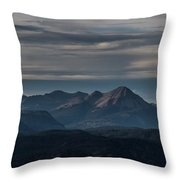 A Distant Engineer Throw Pillow