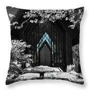 A Door To Enter Throw Pillow