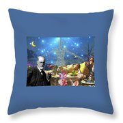 A Dream For Dr Freud Throw Pillow