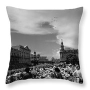 A Fly Over Throw Pillow