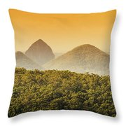 A Glowing Afternoon Throw Pillow