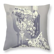 A Grape Gala Throw Pillow