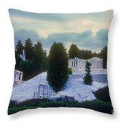 A Little Bit Of Athens Throw Pillow