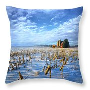 A Little Place In Time Throw Pillow