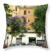 A Living Place Throw Pillow