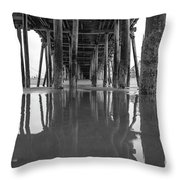 A Look Back In Maine Throw Pillow