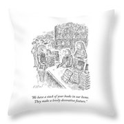 A Lovely Decorative Feature Throw Pillow