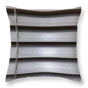 A Modern Blind Throw Pillow